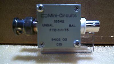 Mini Circuits 15542 Ftb-1-1-75 9402 03 C15 Rf Transformer