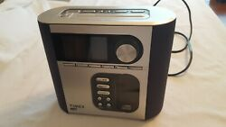 Timex T617S Dual Alarm Clock Radio with Nature Sounds Snooze CD & MP3 line