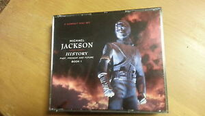 Micheal Jackson history cds new