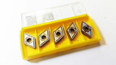 Kennametal DNMG 433FN KCP10B Carbide Inserts (5 Inserts)