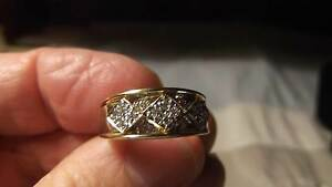 Antique 18ct Yellow Gold Diamond Dress Ring with Valuation $1,625 Koo Wee Rup Cardinia Area Preview
