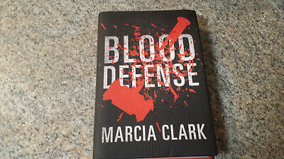 Marcia Clark  Blood Defense 2016  Signed