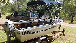 stacer 4.2m and 08 honda 30hp 4 stroke . Humpty Doo Litchfield Area Preview