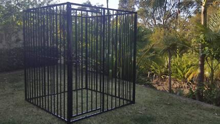 Large Metal Dog pen cage fence