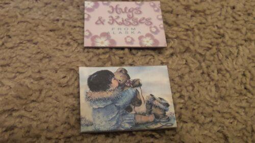 Rie Munoz Alaskan Magnets, Set of 2