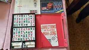 Mah jong games and 2 books Mornington Mornington Peninsula Preview
