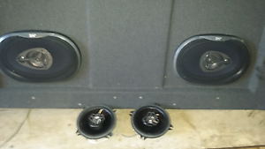 "2 x 290w 6x9s in kh kf laser parcel shelf 2 x 4"" 220w jvc Croydon Park Port Adelaide Area Preview"