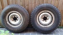 5 x tyres and split rims. Strathfield Strathfield Area Preview