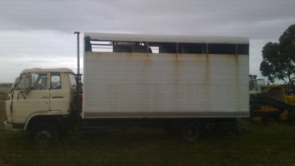 Horse truck box float body only