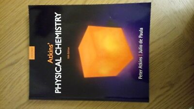Physical Chemistry - Atkins - 10th Edition - Used