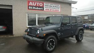 JEEP WRANGLER UNLIMITED X 2008 ** BLUETOOTH **