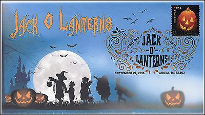 ns, Halloween, Pumpkins, Digital Color Postmark, 16-288 (Digitale Briefmarken Halloween)