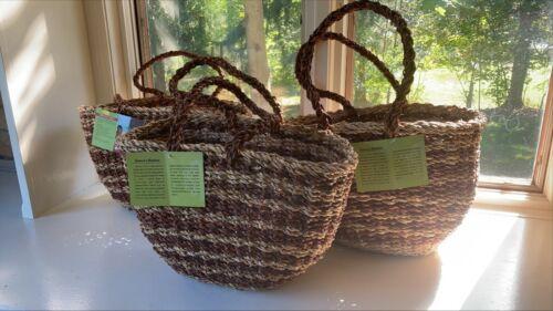 Hand Woven Fair Trade Baskets Purse