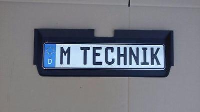 BMW E30 EURO HECKBLENDE Plate startec mtech M technik All E30 VFL Alpina Hartge