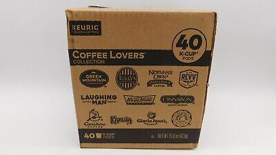 Keurig Coffee Lovers' Collection Variety Pack, Single-Serve Coffee K-Cup Pods