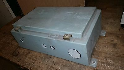Hoffman A-201206lp Wall Mount Steel Enclosure Box Cabinet 17 X 9 X 6 Nema 1213