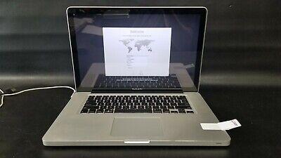 """Apple MacBook Pro MD103LL/A Core i7 2.3 15"""" 4GB 160GB (Mid-2012)-GD9177"""