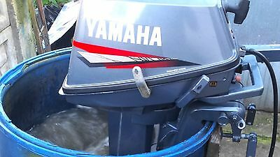 Used, Yamaha 8 HP  2- Stroke Outboard Motor  2006 Model for sale  Shipping to South Africa