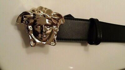 VERSACE leather belt 22- 38