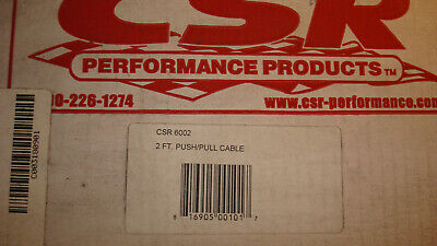 REDUCED CLEARANCE NEW CSR 6002 2 ft. Push/Pull Cable
