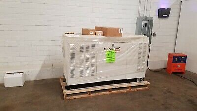 Generac Protector Series Standby Generator Liquid Cooled Gas Engine