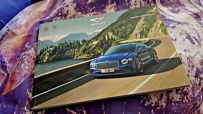 Bentley Continental GT MY18 Softback FULL Sales Brochure 84pg 2018