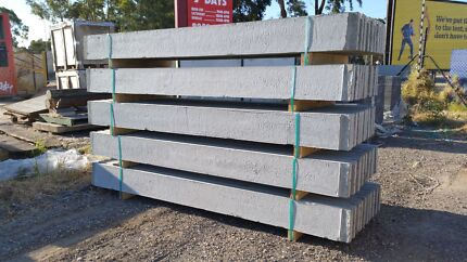 Under Fence Plinths Plain Concrete In Stock And Ready To Go!!