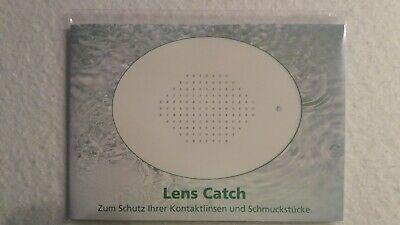 Lens Catch Auffangmatte für Kontaktlinsen Schmuck Schmuckstücke Waschbecken
