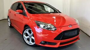 2013 Ford Focus LW MkII ST Red 6 Speed Manual Hatchback Elizabeth Playford Area Preview