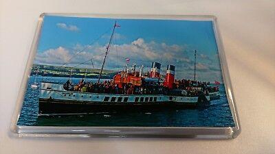 Paddle Steamer WAVERLEY Large Fridge Magnet Ferry Ship Swanage