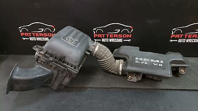 08 DODGE RAM PICKUP 1500 Air Intake Cleaner Filter Box w/Tubes & Meter 5.7L Hemi