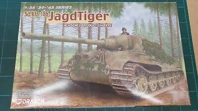 Dragon 6285   Sd.Kfz. 186 Jagdtiger Henschel Production Typet *Rare* 1/35th