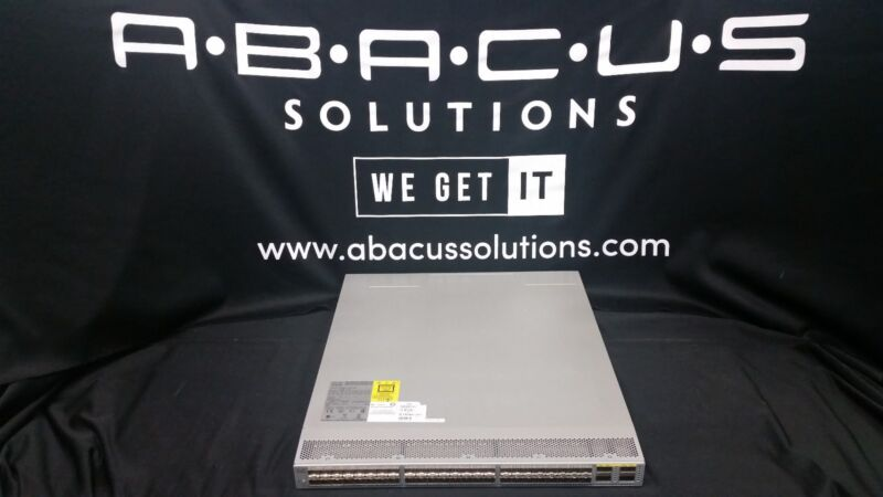 Cisco N3K-C3064PQ-10GX NEXUS 3064-X, 48 SFP+ 4 QSFP+ PTS Fully Tested Dual AC