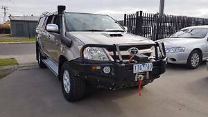 2005 Toyota Hilux SR5 Duel Cab Ute 4x4 TURBO DIESEL AUTO Williamstown North Hobsons Bay Area Preview