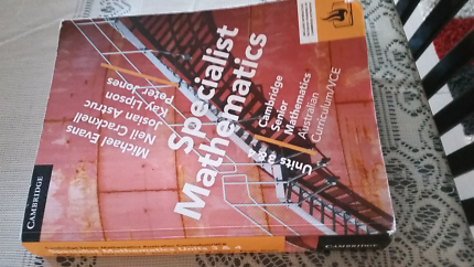 Vce specialist mathematics books