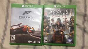 Xbox one games for sale 50$ will deliver to regina