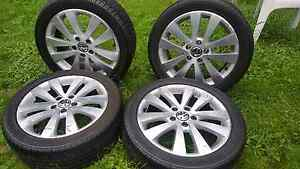 VW Golf/Jetta  17 inch factory wheels 5x112 Raceview Ipswich City Preview