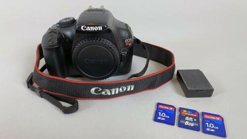 Canon EOS Rebel T3 / EOS 1100D 12.2MP Digital SLR Camera Body