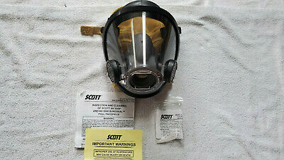 Excellent Scott Av3000 Scba Mask Large Fire Fighter Air Respirator Av-3000