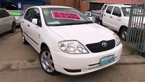 2002 Toyota Corolla Ascent Seca ! Serviced & Inspected ! Low Kms !  Granville Parramatta Area Preview