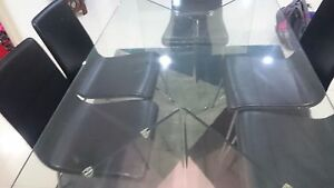 Modern Glass Dining Table Ferny Grove Brisbane North West Preview