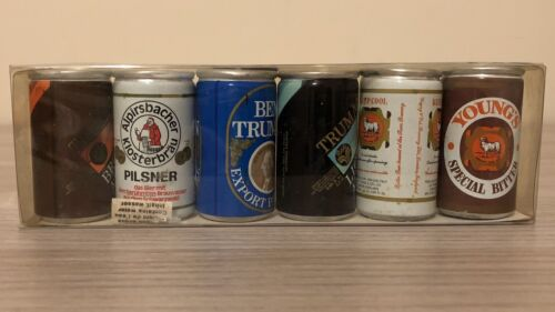 Mignon lattine birra Young's Truman Pilsner beer can rare anni 80 bar vintage