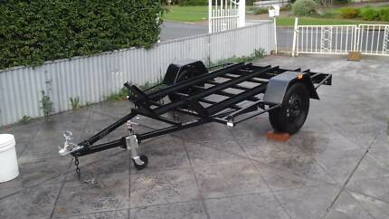 7x5 3 Bike Trailer Clearview Port Adelaide Area Preview