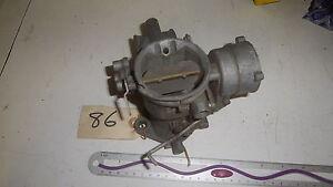 Solex British Carburetor Body NOS C1831A
