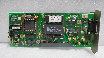 Used Mks 113594 Serial Interface 1 Board 113593-d