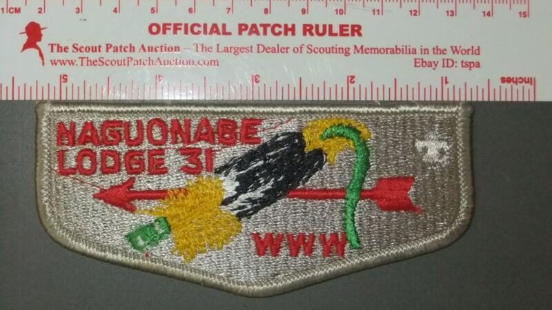 Boy Scout OA 31 Naguonabe flap 7531II