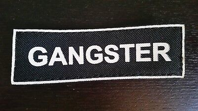 GANGSTER Patches for Dog Harness or Collar, 5