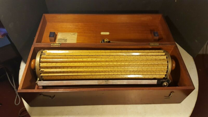 Antique Keuffel & Esser Hoboken, New Jersey Thacher's Calculating Instrument