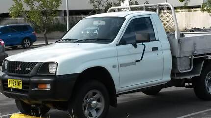 2001 Mitsubishi Triton ute Swansea Lake Macquarie Area Preview