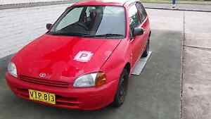 97 toyota starlet (long rego) Elermore Vale Newcastle Area Preview